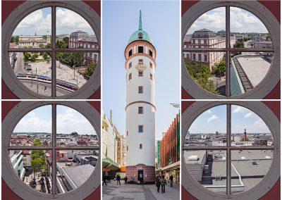 Weisser-Turm Postkarte